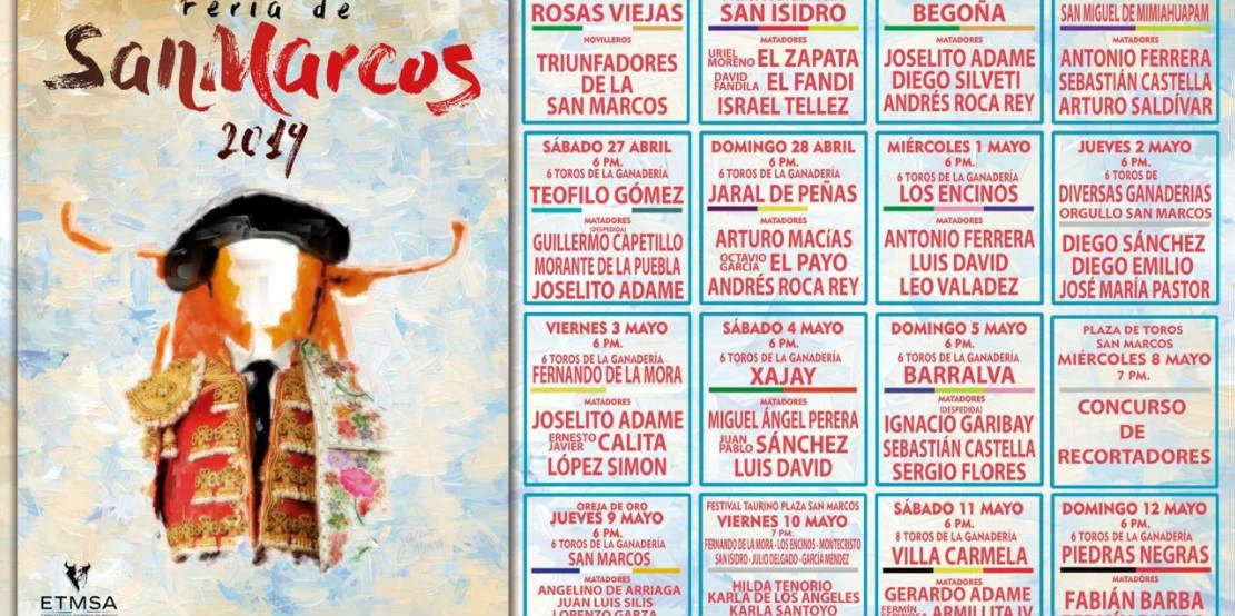 Cartel Feria de San Marcos.