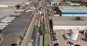 frontera camiones