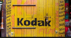 Caida de Kodak.