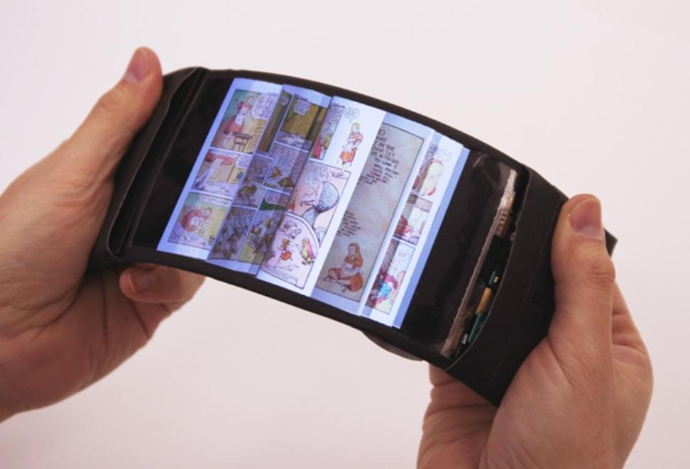 Smartphone con pantalla flexible