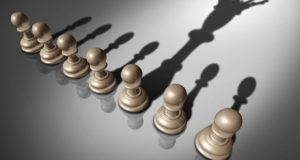 liderazgo, juego de ajedrez