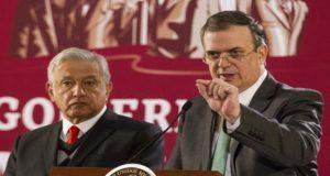 Marcelo Ebrard y AMLo