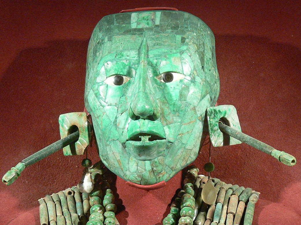 Máscara del Rey Pakal en Palenque