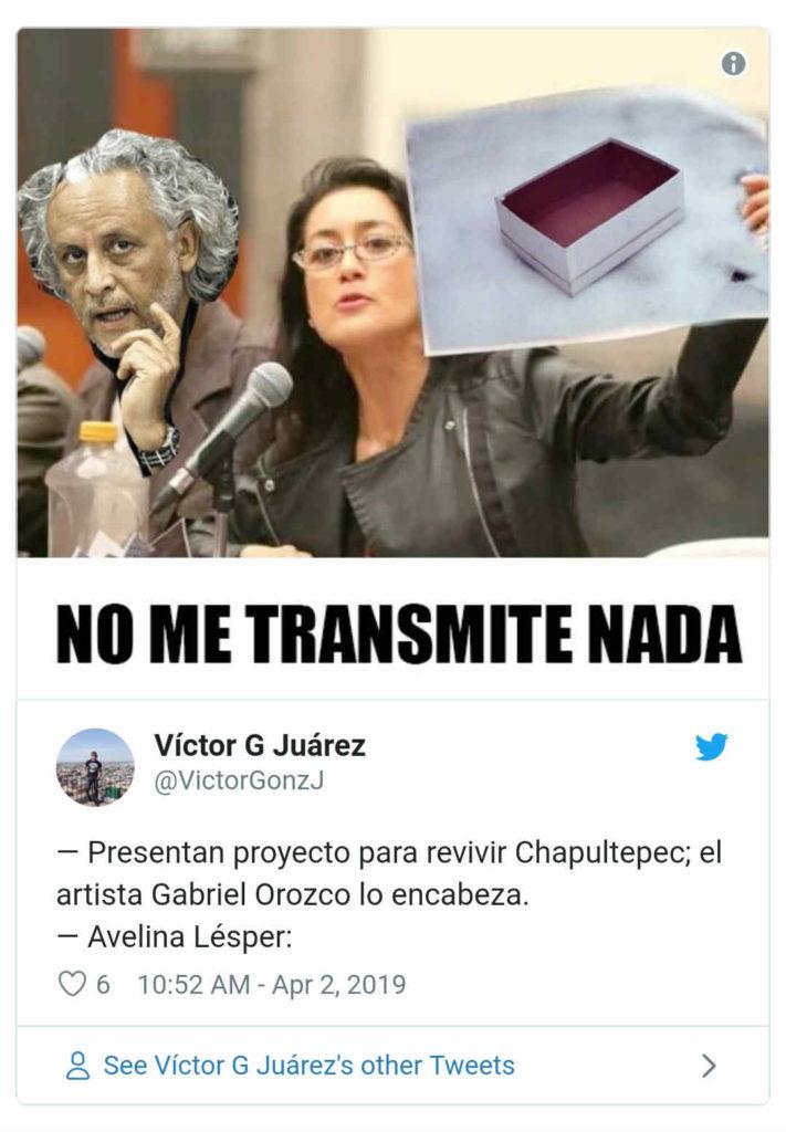 Meme Gabriel Orozco.