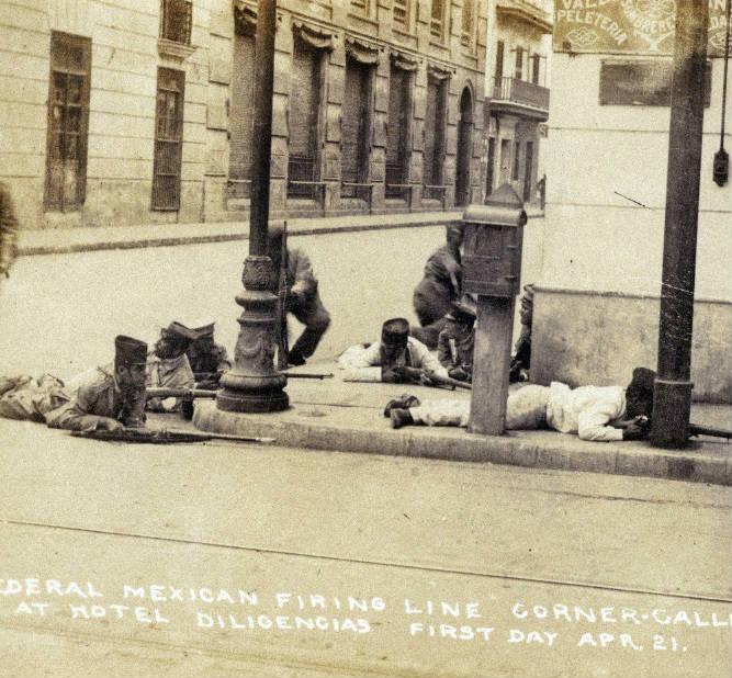 Invasión militar en Veracruz 1914.