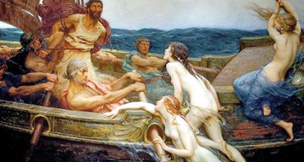 Odiseo y sirenas