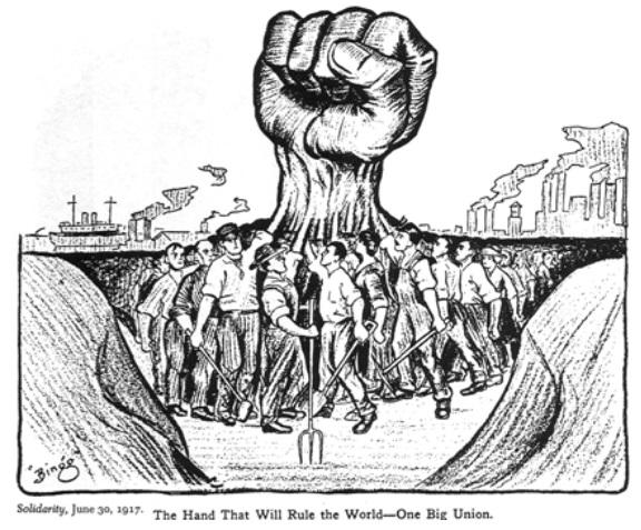 origen de los sindicatos