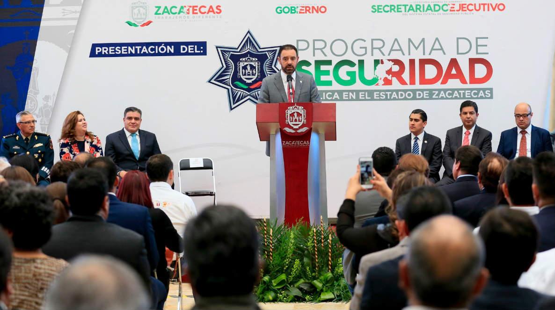 Seguridad en Zacatecas.