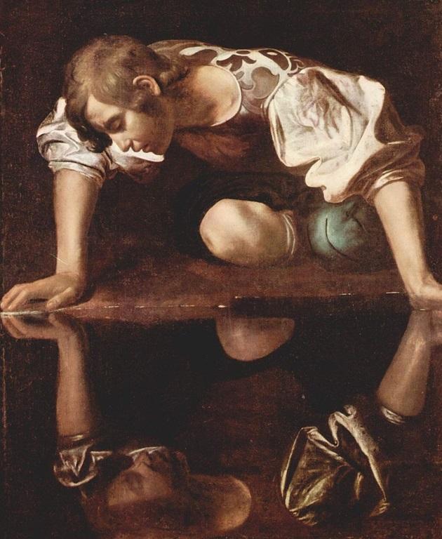 Narciso de Caravaggio.