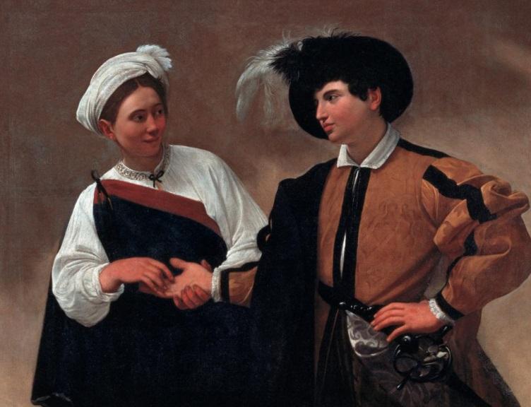"""""""La buenaventura"""", Caravaggio, 1594"""