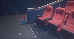 Detona artefacto explosivo dentro de cine en Gustavo A. Madero /Foto: Twitter