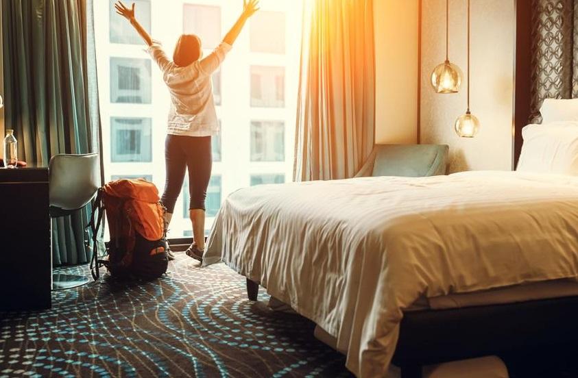 Hoteles y hospedaje.