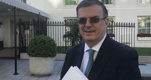 Canciller mexicano, Marcelo Ebrard