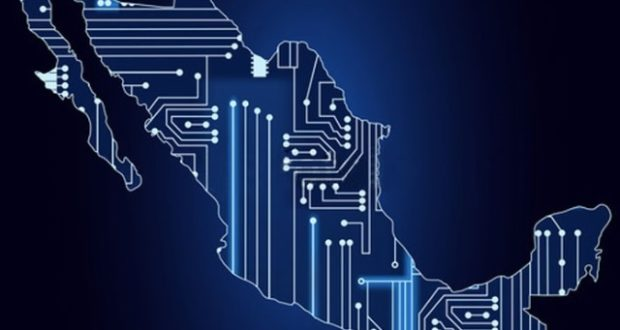 Mapa de México digital