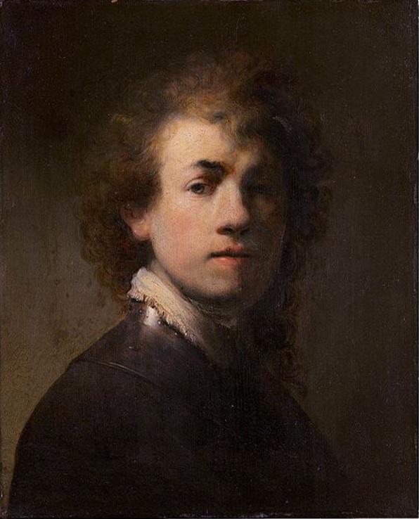 Autorretratos de Rembrandt.