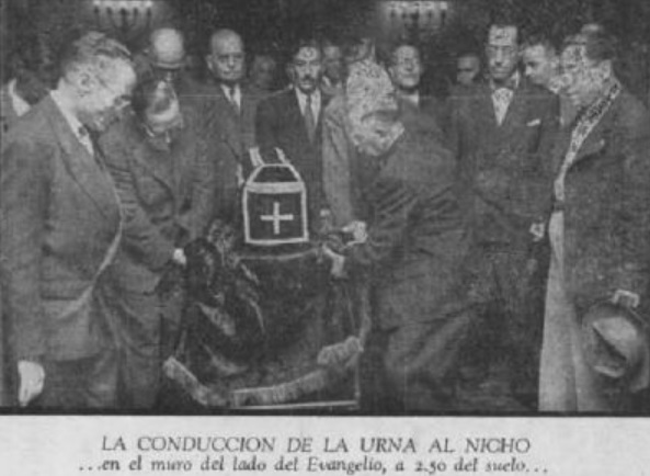 Exhumación de Hernán Cortés.