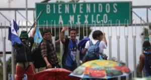 Los esfuerzos migratorios de México en la frontera