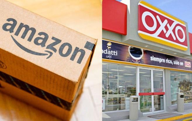 Amazon y Oxxo.
