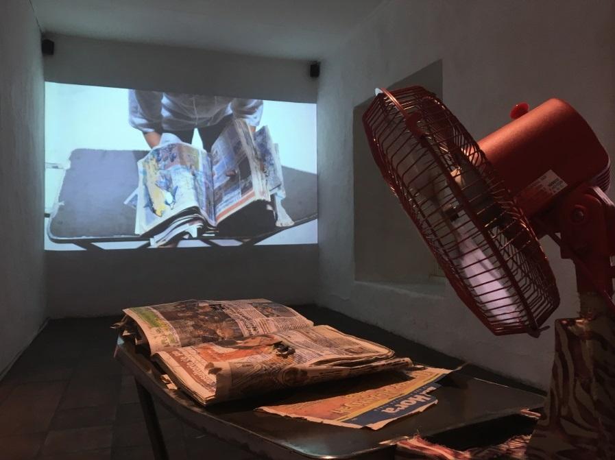 Arte VIP: video-instalación-performance.