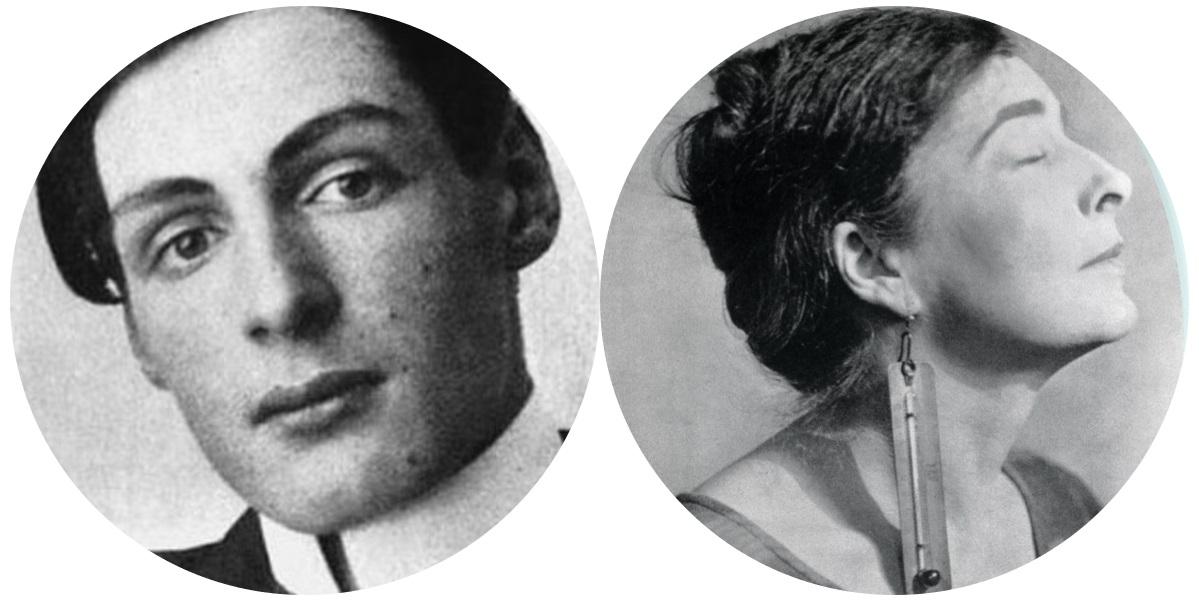 Arthur Cravan y Mina Loy.