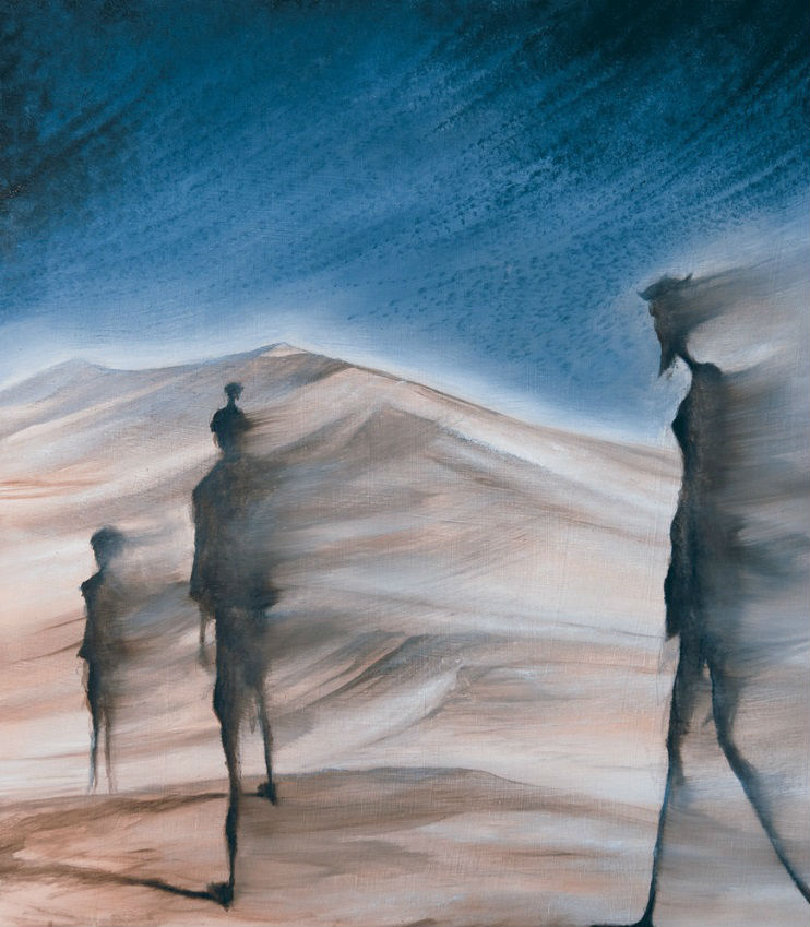 Caminante del desierto.