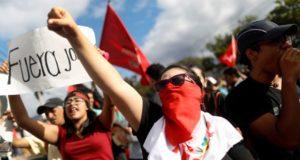Crisis sociopolítica en Honduras.