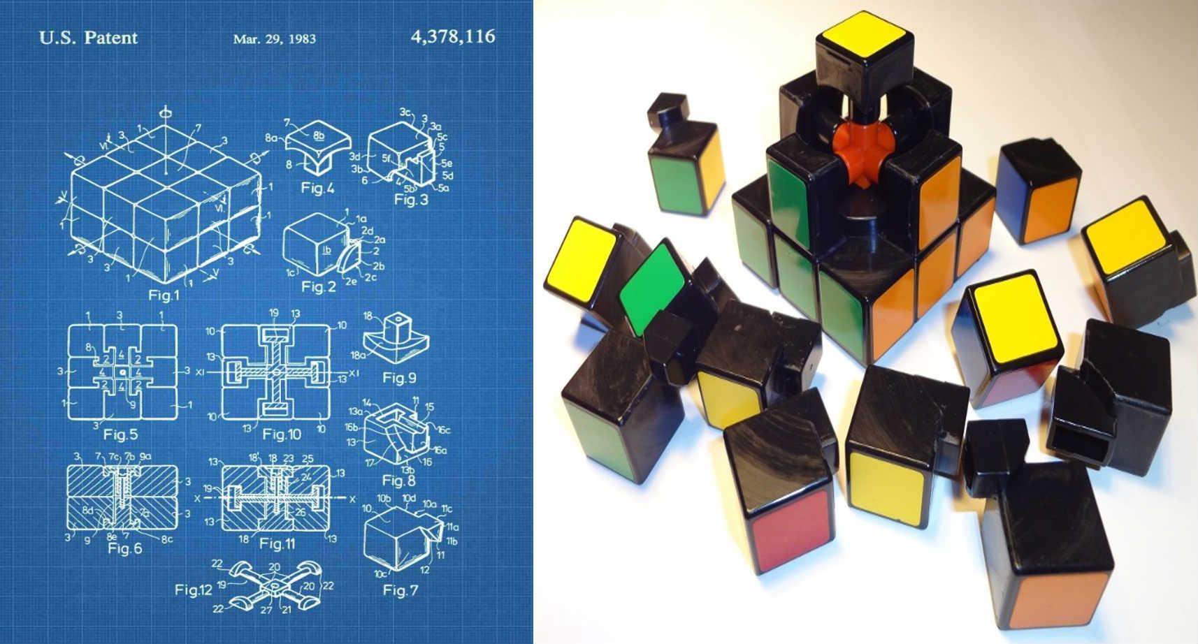 Mecanismo del cubo de Rubik.