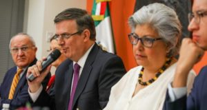 Conferencia de Ebrard desde Washington sobre aranceles de Trump en vivo
