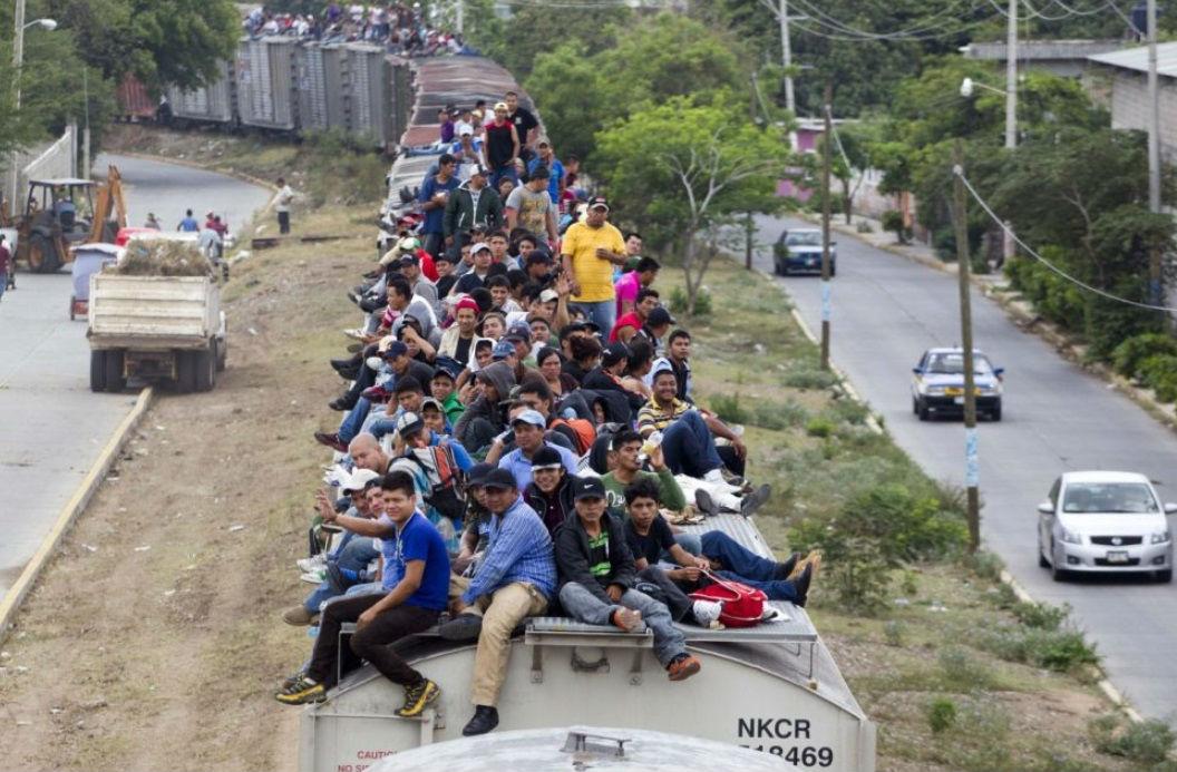Flujo migratorio.