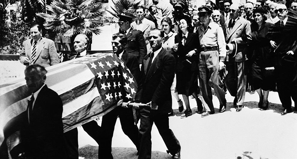 Funeral de George Polk.