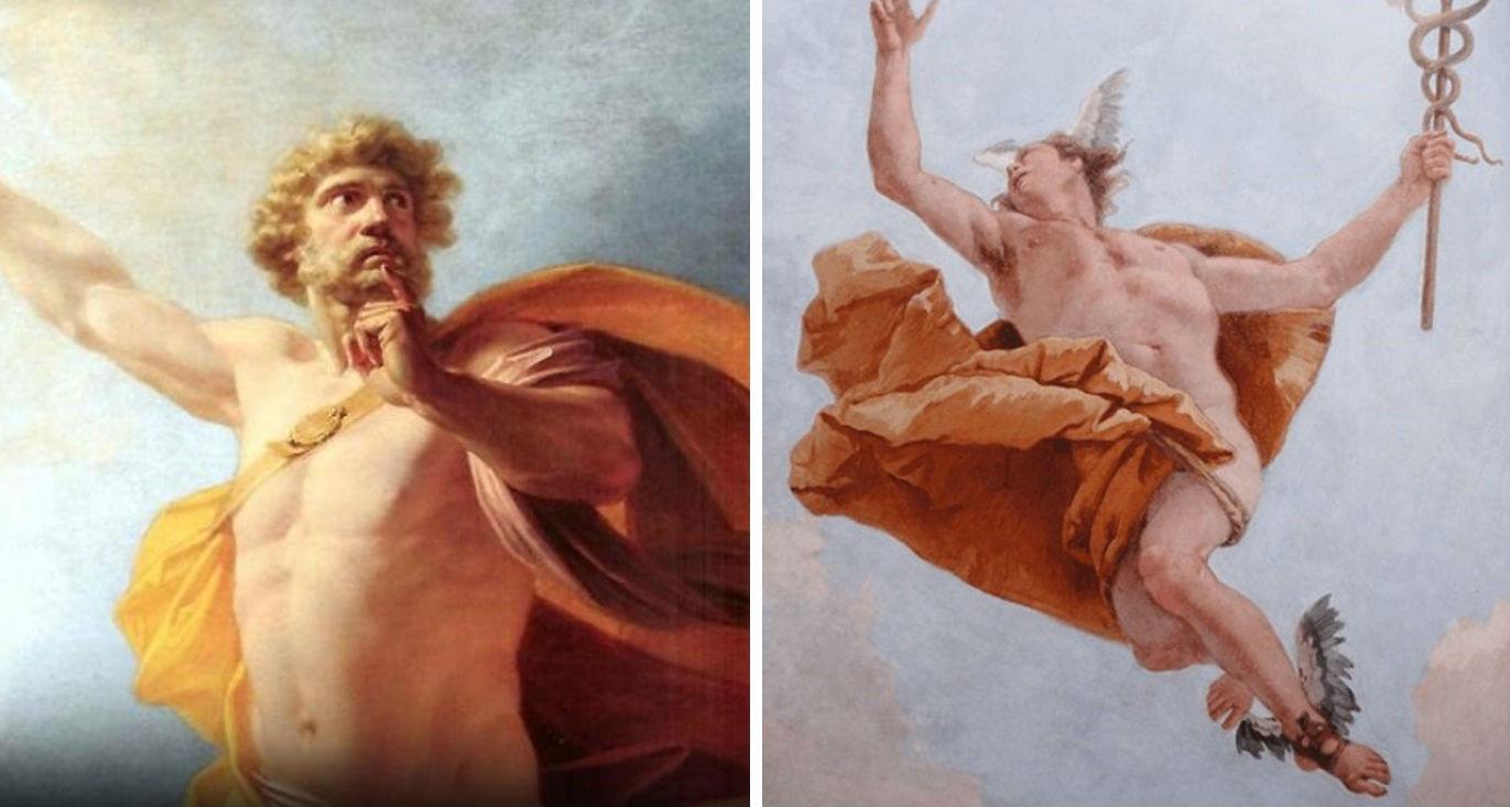 Hermes y Prometeo