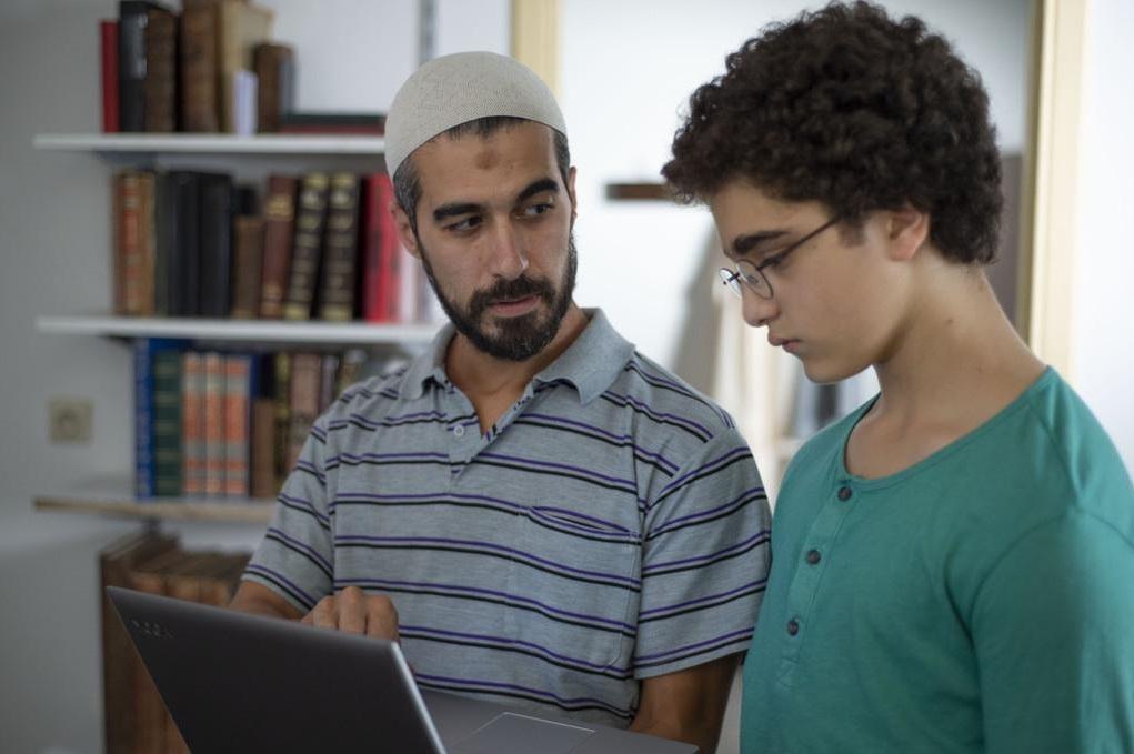 El joven Ahmed.