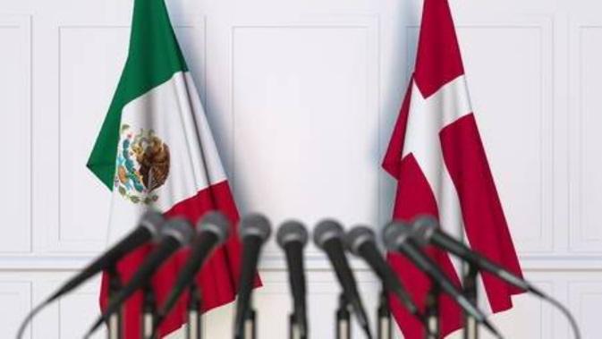Política de Dinamarca y México.