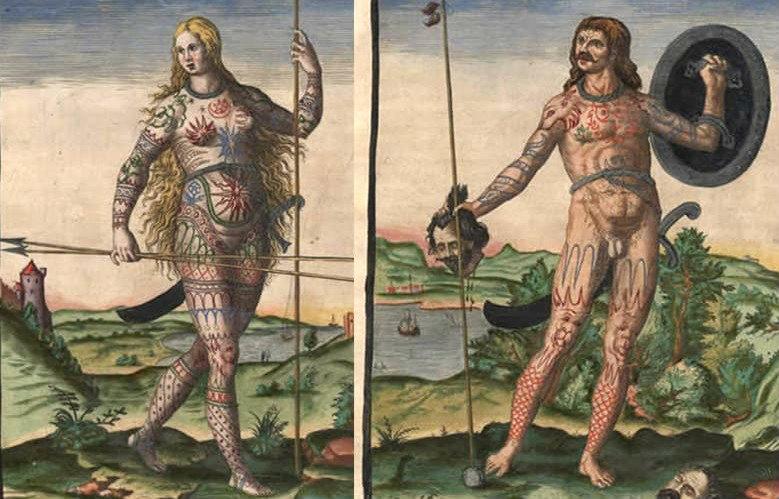 Historia del tatuaje.