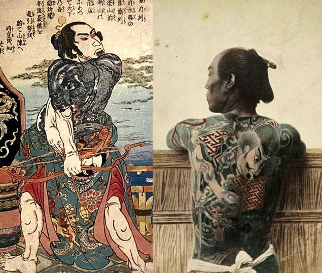 Tatuaje yakuza.