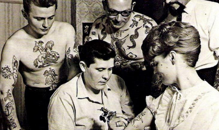 Tatuajes de los años 60s.