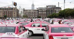 taxis en la CDMX