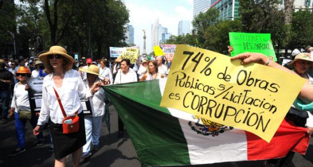 Marcha de oposición AMLO.