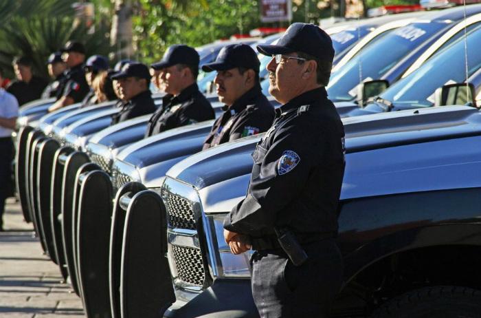 Cuerpo policial.