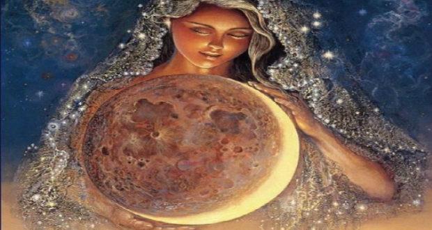 Diosa Luna.
