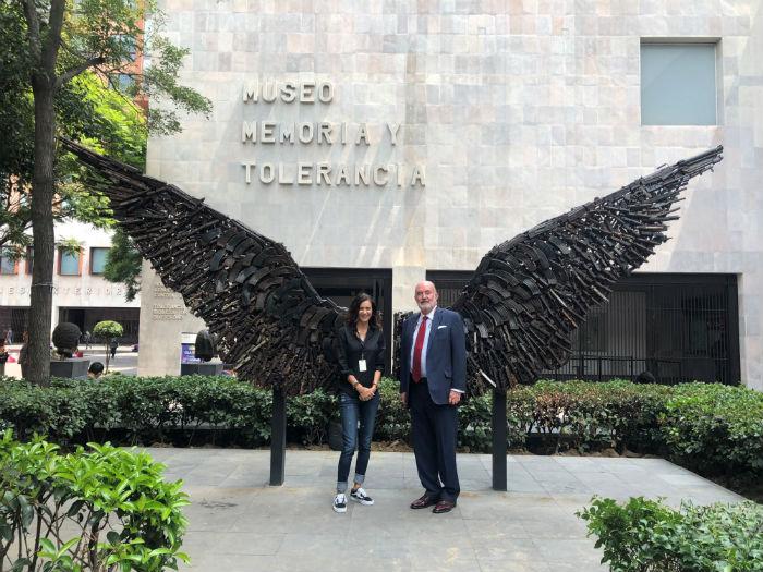 Mily Cohen y Antonio Prida.