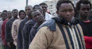 migrantes africanos