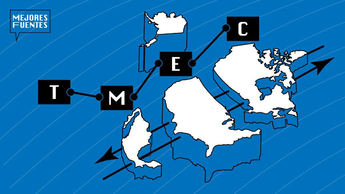 Países del T-MEC.