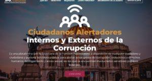 Alertadores de la Corrupción; plataforma para denunciar actos corruptos en México