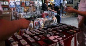 tianguis celulares robados