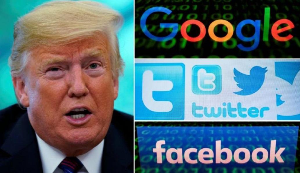 Trump y aviso de privacidad.
