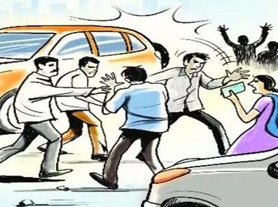 Violencia en automóvil.