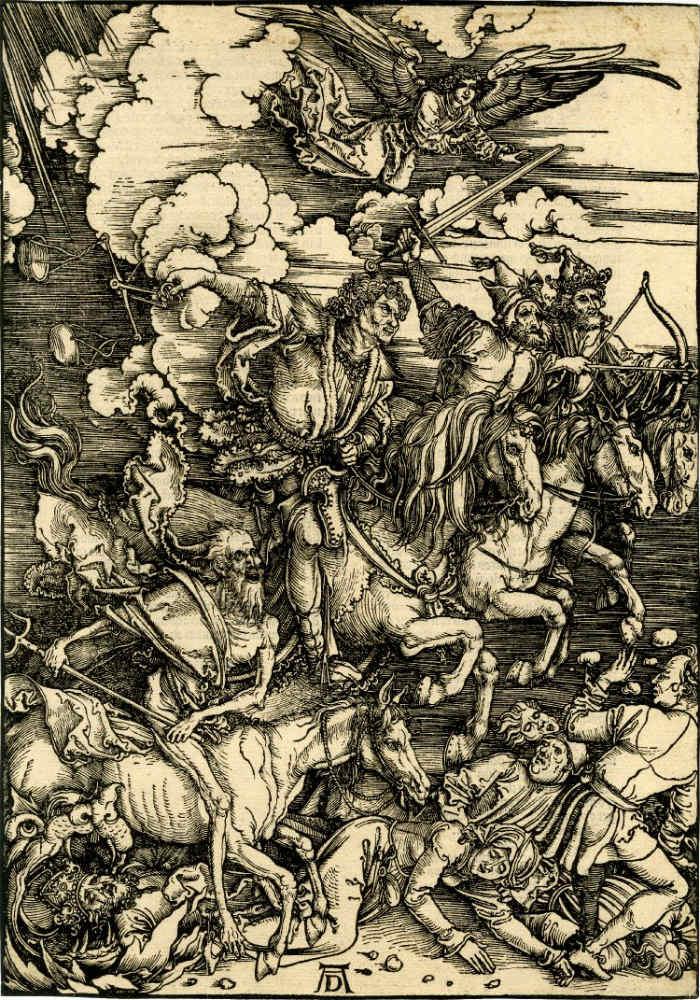 'Los cuatro jinetes del Apocalipsis'.