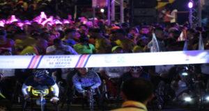 silla de ruedas en Maratón