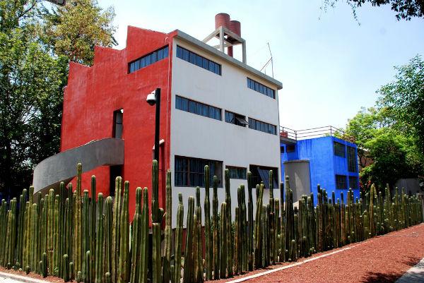 Casa y estudio del pintor Diego Rivera.